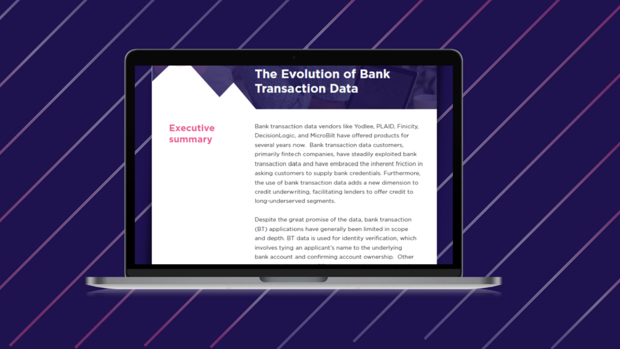 Bank Transaction Data WP
